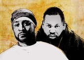 THE FIVE GHOST AND RAE JOINTS YOU MEET IN SHAOLIN: Twenty-five years of stark, elegant storytelling from Wu-Tang Clan's inseparable dart experts
